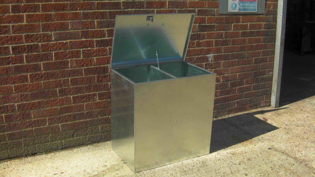 2 Compartment Feed Storage Bin 2c Ad Fabrication